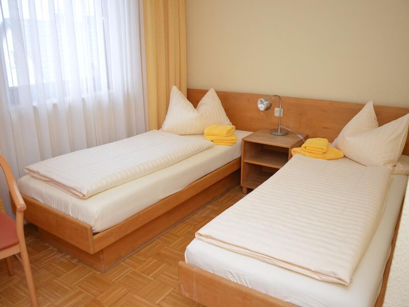 Doppelzimmer im Hotel Grüner Sand